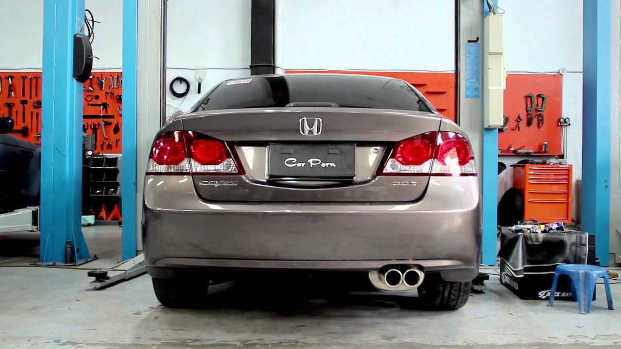 varex variable exhaust on honda civic fd 2 0
