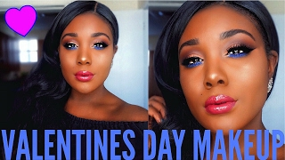 Kylie Jenner Valentine's Day Makeup Tutorial 2017 I Royal Peach Palette Inspired