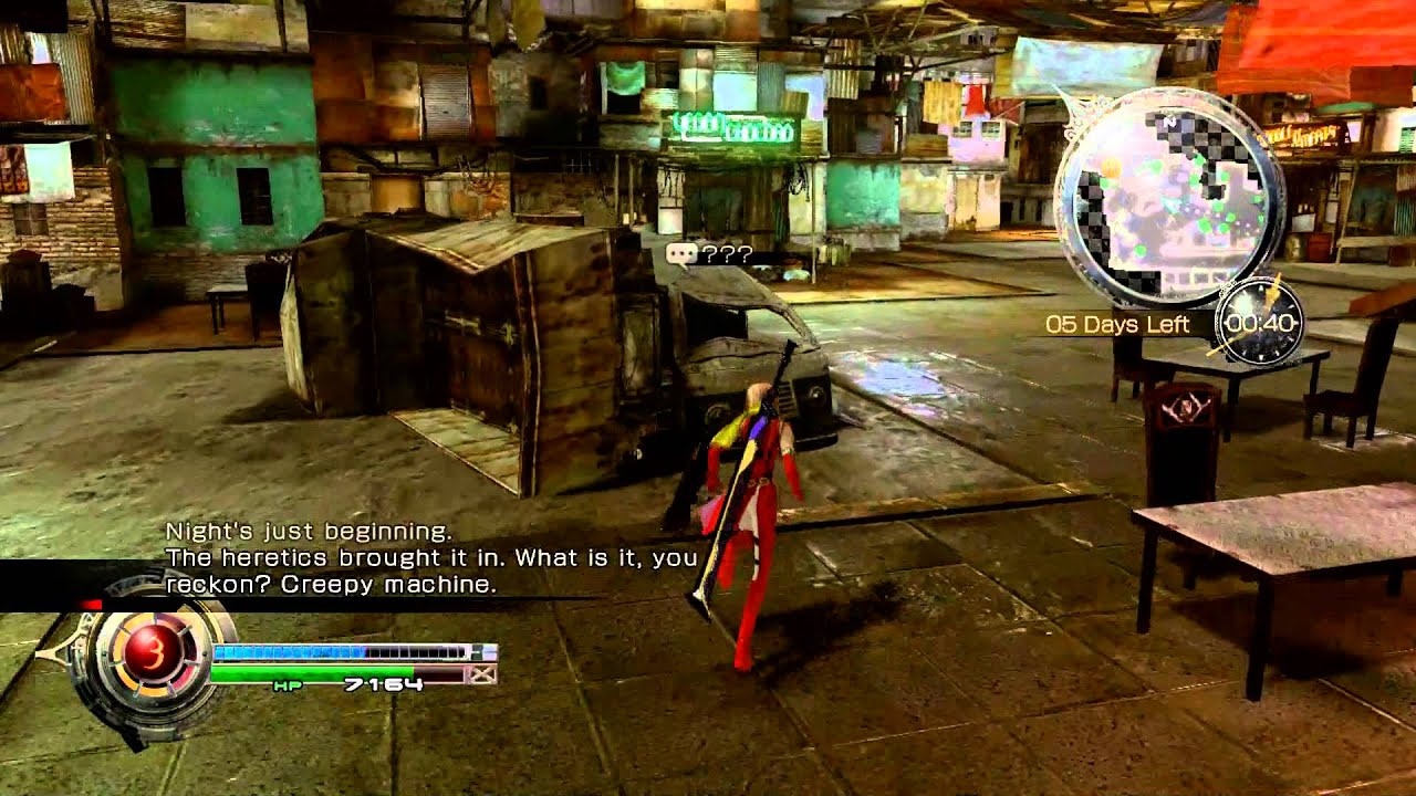 Final Fantasy 13 Lightning Returns  Stuck in a Gem  side quest Walkthrough & Final Fantasy 13 Lightning Returns