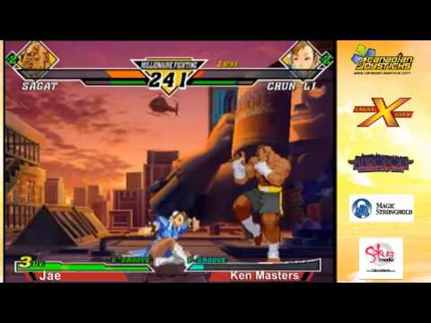 Jae vs Ken Masters - CvS2 Singles - Marvel Throwdown 2 @ Metropolis Comics And Toys