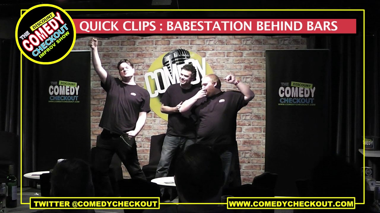 Discount Comedy Checkout - Quick Clips : Babestation Behind Bars