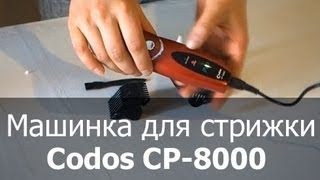 Машинка для стрижки собак и кошек Codos CP-8000(http://thezoo.ru/ Машинка для стрижки шерсти животных (кошек, собак, кроликов т.д.) Codos-8000 Идеальное сочетание цена-к..., 2013-05-24T08:50:53.000Z)