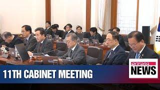 President Moon to discuss his ASEAN tour and ways to mediate between N. Korea, U.S.
