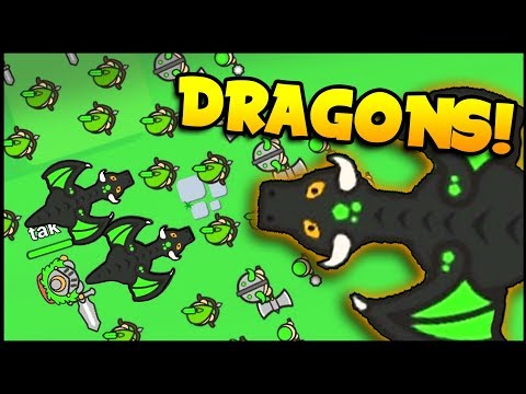UNLEASH The DRAGONS! Building A Massive Dragon Force - Lordz.io