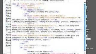 WordPress Tutorial - Edit a Sidebar File Using a Text Editor