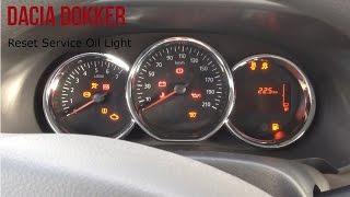Автомобіль Dacia Dokker Скидання Світло Обслуговування