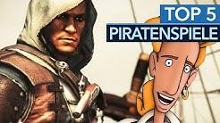 Top 5 - Die besten Piratenspiele