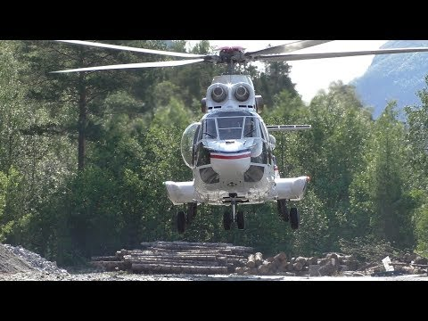 norwegian-forest-fire-helicopter-//-oldest-super-puma