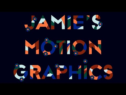 Episode 11 - Typography (After Effects) - Jamie's Motion Graphics