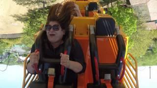 Cindy Vero Takes On El Diablo at Six Flags Great Adventure