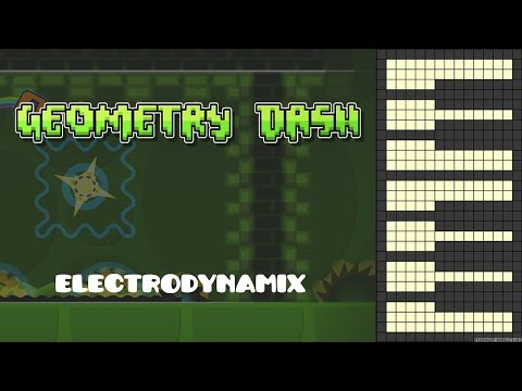 Geometry Dash - Electrodynamix [Piano Cover] Thanks for the 500 Subs!