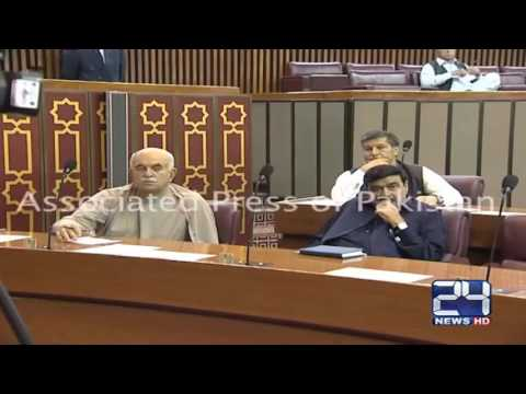 24 Report: Mehmood Khan Achakzai vs Chaudhry Nisar