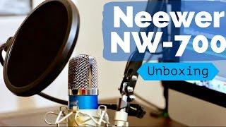 unboxing y review micro fono neewer nw 700 audio mejorado ktx159