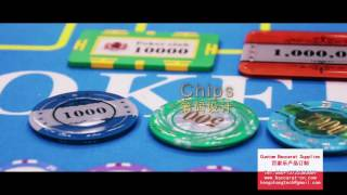 Casino supplies for Roulette wheel, Poker table, dealing shoe
