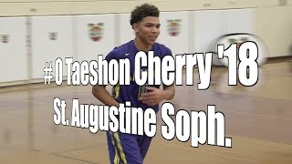Taeshon Cherry '18, St. Augustine Sophomore at 2015 UA Holiday Classic