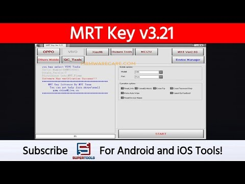 MRT Key V3.21 - Best Android Device Manager (free) | Super Tools