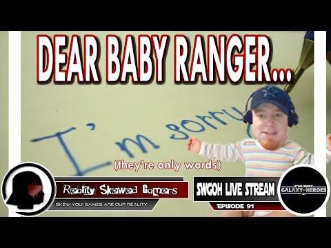 SWGOH Live Stream Episode 91: Dear Baby Ranger... | Star Wars: Galaxy of Heroes #swgoh