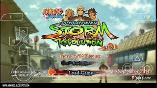 download naruto shippuden ultimate ninja storm 4 for ppsspp