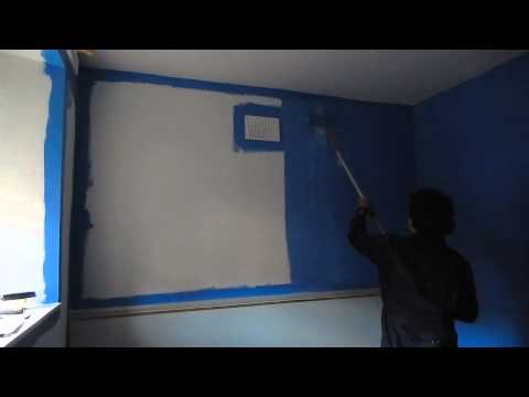 Painting the Bedroom