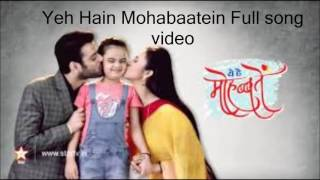 Download Video Ost Mohabbatein ANTV MP3 3GP MP4