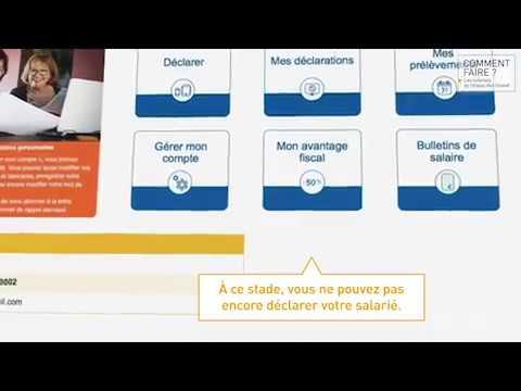 Vidéo TUTORIEL ACOSS CESU URSSAF Créer compte en ligne