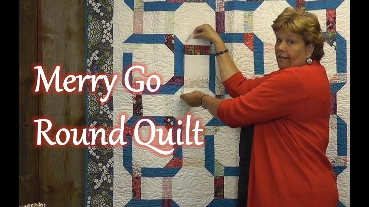 The Merry Go Round Quilt - YouTube : merry go round quilt pattern - Adamdwight.com