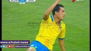 إبراهيم حسن يهدر هدفا محققا للإسماعيلي أمام المقاولون في الدقيقة الأولى.. فيديو