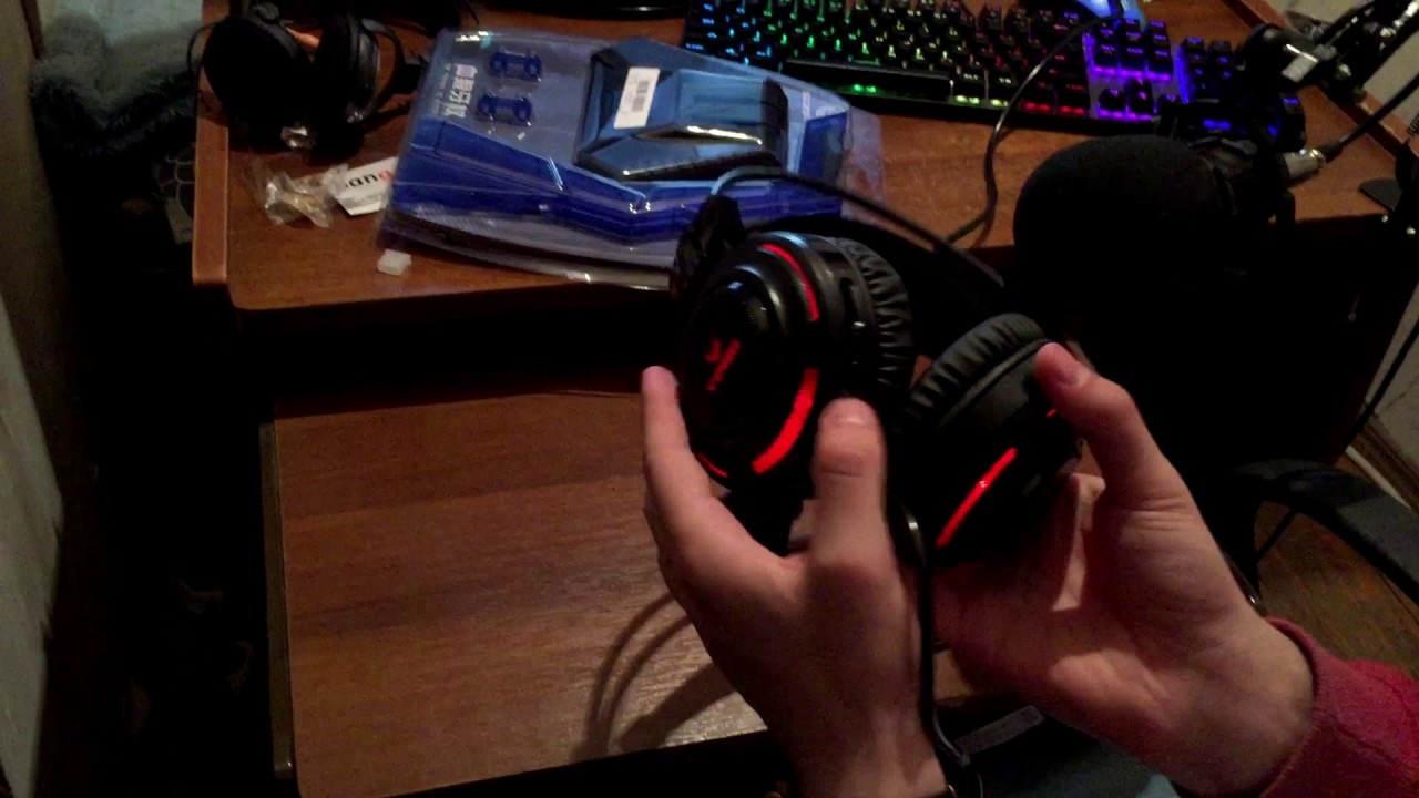 Unboxing – Gaming Headset & Stand