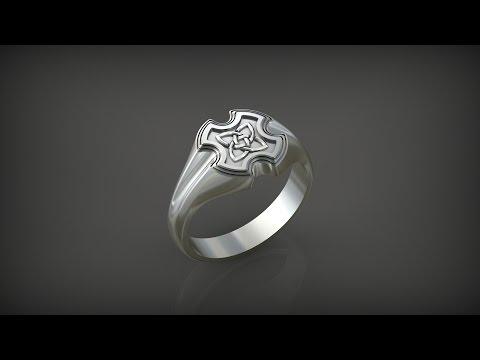 X-Ring in Rhinoceros 3d. Stream. 3d modelling.