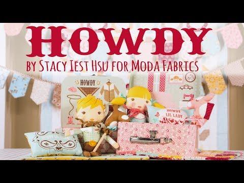 Howdy Fabric Collection by Stacy Iest Hsu for Moda Fabrics  - Fat Quarter Shop