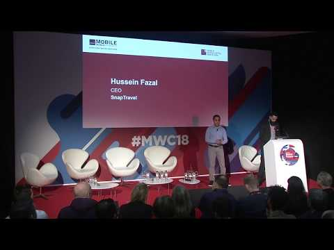SnapTravel presents on the future of messaging - Barcelona, MWC18