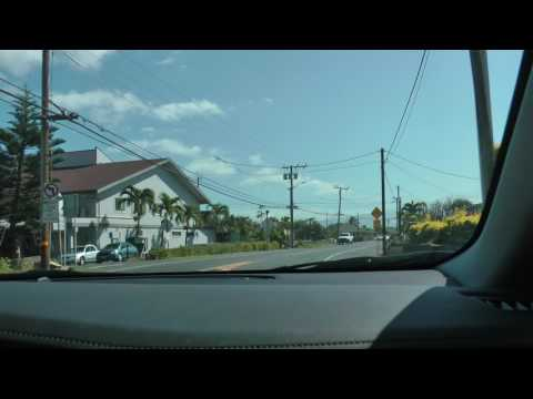 driving through Wailuku and Kahului in Maui, Hawaii