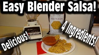 Easy Blender Salsa!