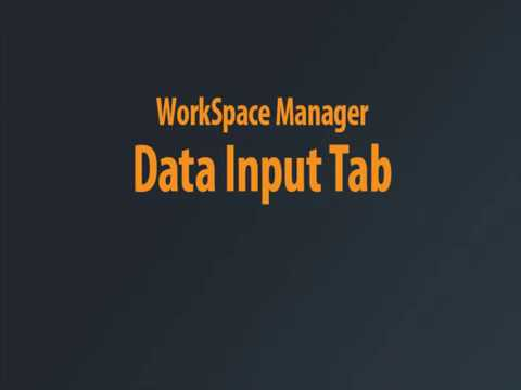 WorkSpace Manager - Basic WSM Tasks Chaptered