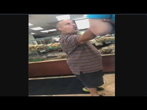 Short Man Rage at Bagel Shop
