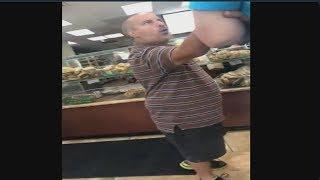 Short Man Rage at Bagel Shop
