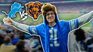 LIONS VS. BEARS THANKSGIVING DAY GAME WITH MY FAMILY!