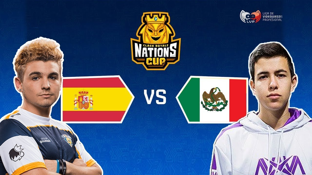 Mexico Vs Spain Clash Royale Nations Cup  Youtube
