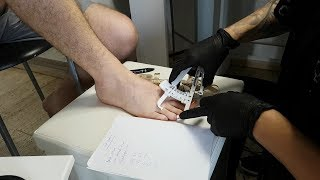 ASMR Foot Measuring & Shoe Fitting