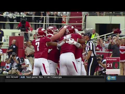 Arkansas vs. Coastal Carolina 2017
