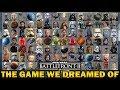 THE GAME WE DREAMED OF! Star Wars Battlefront 2