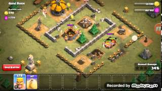 Let's play Clash of clans Modul Single Player