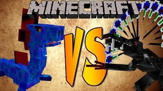 ALIEN VS WATER DRAGON - Minecraft Batallas de Mobs - Mods