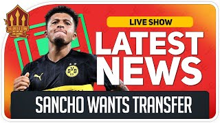 Sancho To Man Utd Transfer Get Closer! Man Utd News