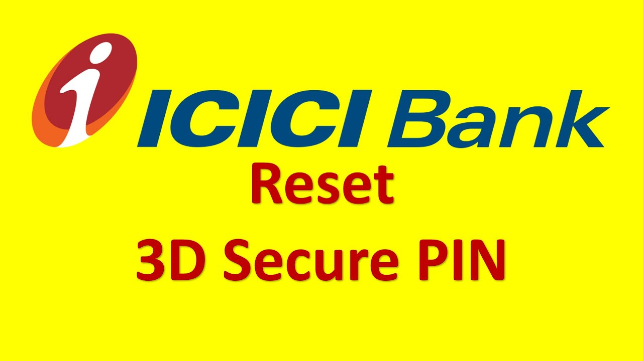icici bank reset 3d secure pin youtube. Black Bedroom Furniture Sets. Home Design Ideas