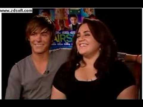 Zac Efron and Nikki Blonsky Interview - YouTube