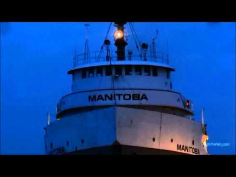 Ships MARTIGNY & MANITOBA passing on Welland Canal