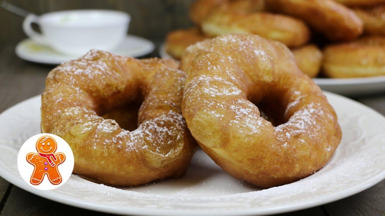 пончики с дыркой рецепт приготовления
