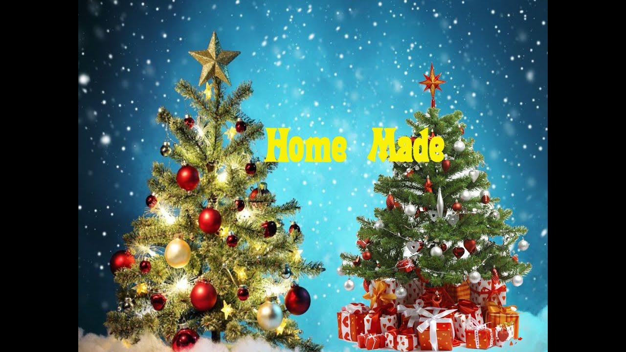 how to make a christmas tree home made easy tutorials youtube