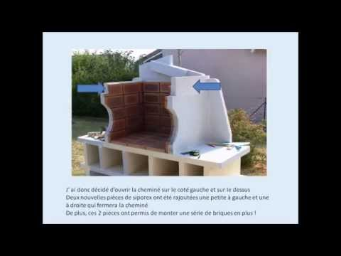 R aliser un barbecue en siporex ou b ton cellulaire for Barbecue beton cellulaire exterieur